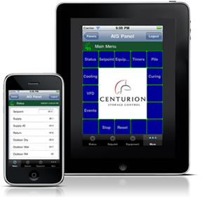 iCenturion and aCenturion mobile app for iPhone, iPad, and Android devices