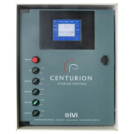 Centurion produce storage control panel