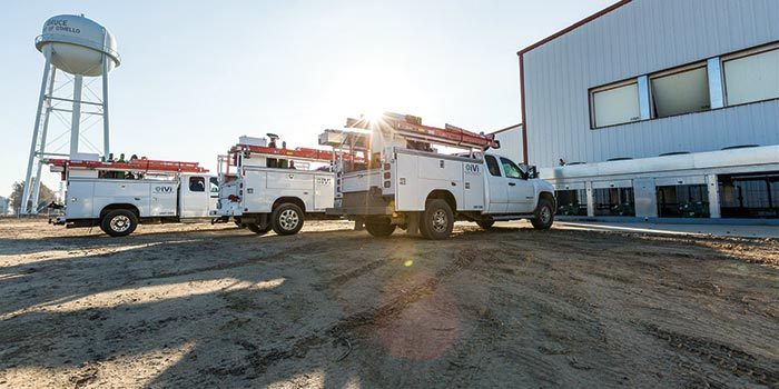 IVI Service trucks ready to help with your storage solutions