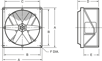Prop fans/Propeller fans measurements