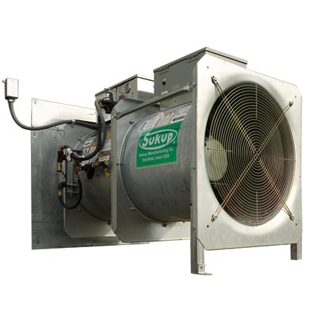 Sukup Heating Unit for storage control