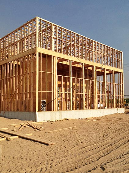 Solid framework: comprehensive planning, high-quality products and materials, and top-notch construction combined for a building and ventilation system that will stand the test of time.
