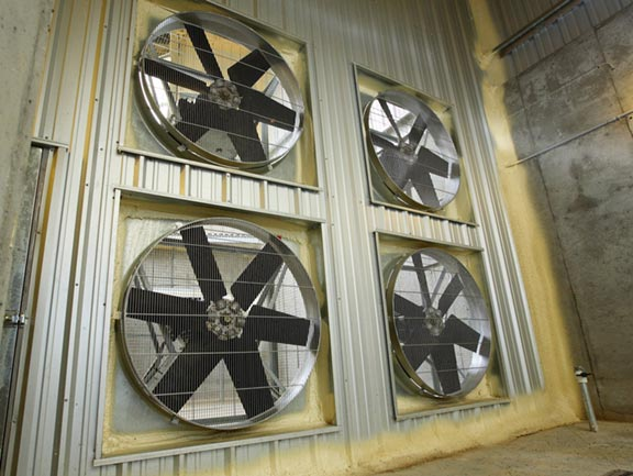 IVI's direct-drive prop fans have adjustable props to maximize airflow delivery. We matched just the right fan set up for the job.