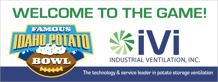 IVI is an annual sponsor of the Famous Idaho Potato bowl