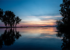 Lake Lowell, 5 miles from downtown Nampa